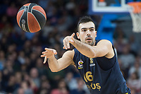 Fenerbahce Dogus Kostas Sloukas during Turkish Airlines Euroleague match between Real Madrid and Fenerbahce Dogus at Wizink Center in Madrid , Spain. March 02, 2018. (ALTERPHOTOS/Borja B.Hojas) /NortePhoto.com NORTEPHOTOMEXICO