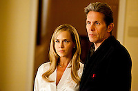 Julie Benz as Elise Laird and Gary Cole as Judge Cato Laird in TNT's 'Ricochet' based on the book by #1 New York Times best-selling author Sandra Brown about a case of murder and betrayal in high-society Savannah.