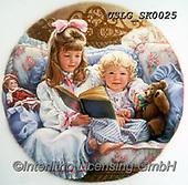 CHILDREN, KINDER, NIÑOS, paintings+++++,USLGSK0025,#K#, EVERYDAY ,Sandra Kock, victorian