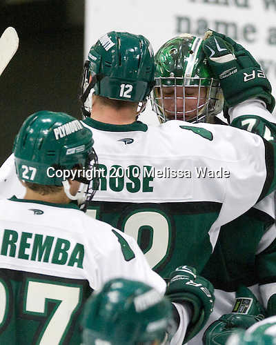 David Rose (Plymouth State - 12), Jack Åstedt (Plymouth State - 30) - The visiting Salem State University Vikings defeated the Plymouth State University Panthers 5-2 on Thursday, November 18, 2010, at Hanaway Rink in Plymouth, New Hampshire.