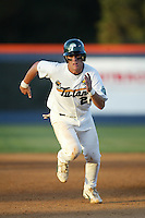 Brian Bogusevic of the Tulane Green Wave runs the bases during a 2004 season game at Goodwin Field in Fullerton, California. (Larry Goren/Four Seam Images)