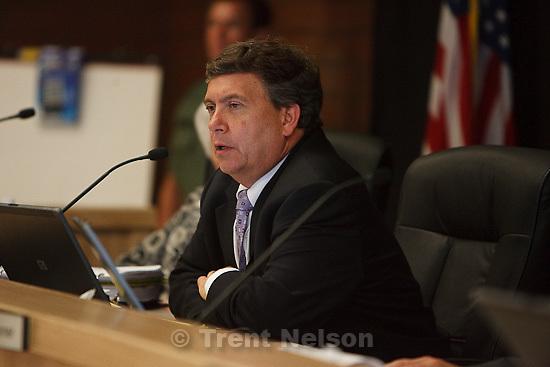 Trent Nelson  |  The Salt Lake Tribune.Draper - Commutation hearing for death-row inmate Ronnie Lee Gardner Thursday, June 10, 2010, at the Utah State Prison. Clark Harms