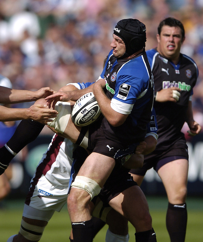 Photo: Jonathan Butler..Bath Rugby v Leicester Tigers. Guinness Premiership. 09/09/2006..Steve Borthwick of Bath.