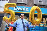 Jonathan Smith storeManager at the opening of the Dealz new store in Thomas Street, Dublin.<br /> <br /> Picture Newsfile/Professional Images