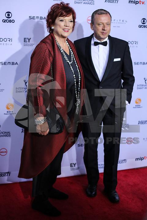 NEW YORK, NY 21.11.2016 - EMMY-2016 -  Regina Ziegler durante tapete vermelho do Emmy Internacional 2016 prêmio dos melhores atores e novelas da TV, em Nova York, nos Estados Unidos na noite desta segunda-feira, 21. (Foto: Vanessa Carvalho/Brazil Photo Press)