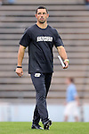 02 October 2012: Georgia Southern assistant coach Ben Freakley. The University of North Carolina Tar Heels defeated the Georgia Southern Eagles 2-0 at Fetzer Field in Chapel Hill, North Carolina in a 2012 NCAA Division I Men's Soccer game.