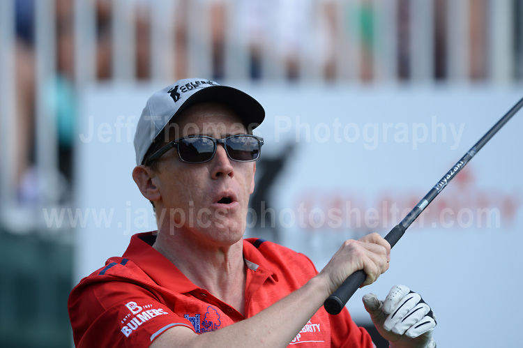 Tv personality Bob Brydon during The 2017 Celebrity Cup golf tournament at the Celtic Manor Resort, Newport, South Wales. 1.07.2017 <br /> <br /> <br /> Jeff Thomas Photography -  www.jaypics.photoshelter.com - <br /> e-mail swansea1001@hotmail.co.uk -<br /> Mob: 07837 386244 -