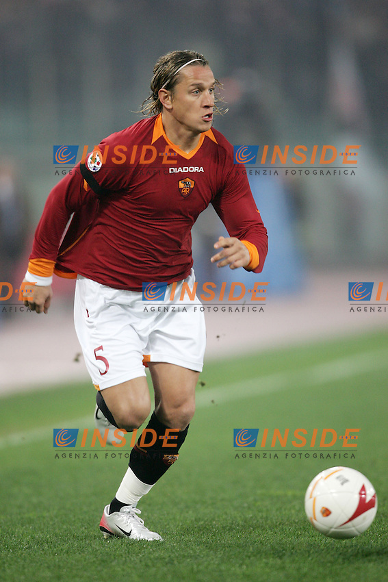 Philippe Mexes (Roma)<br /> Italian &quot;Serie A&quot; 2006-07<br /> 17 Dic 2006 (Match Day 16)<br /> Roma-Palermo (4-0)<br /> &quot;Olimpico&quot; Stadium-Roma-Italy<br /> Photographer Andrea Staccioli INSIDE