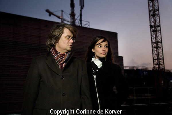 The Netherlands, Rotterdam, 29 January, 2011. .International Film Festival Rotterdam 2011. Edgar Honetschläger, Rosanne Mulholland, AUN - the Beginning and the End of all Things.Photo: Corinne de Korver Copyright and ownership by photographer. FOR IFFR USE ONLY. Not to be (re-)distributed in any form. Copyright and ownership by photographer. FOR IFFR USE ONLY. Not to be (re-)distributed in any form.