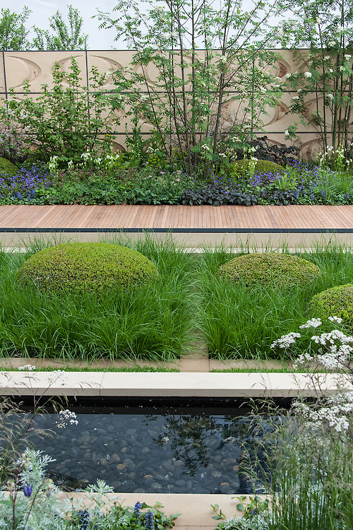 The Brewin Dolphin Garden, designed by Robert Myers, Gold medal winner, RHS Chelsea Flower Show 2013.