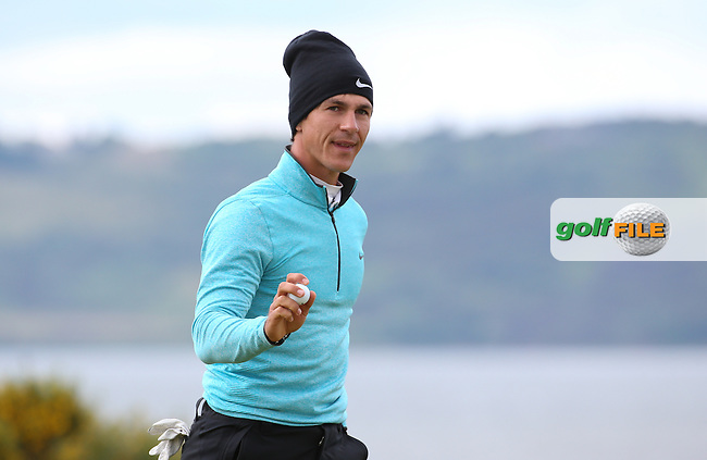 Thorbjorn Olesen (DEN) during Round Two of the 2016 Aberdeen Asset Management Scottish Open, played at Castle Stuart Golf Club, Inverness, Scotland. 08/07/2016. Picture: David Lloyd | Golffile.<br /> <br /> All photos usage must carry mandatory copyright credit (&copy; Golffile | David Lloyd)