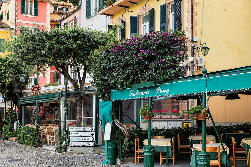 Restorante Puny in the charming town of Portofino.