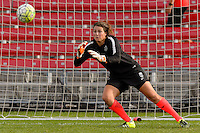 Chicago, IL - Sunday Sept. 04, 2016: Haley Kopmeyer prior to a regular season National Women's Soccer League (NWSL) match between the Chicago Red Stars and Seattle Reign FC at Toyota Park.