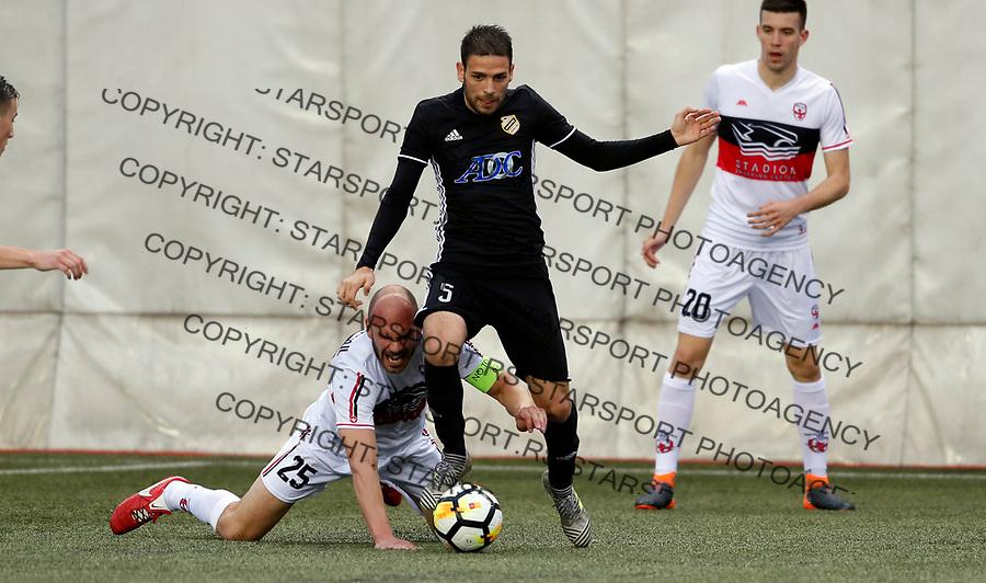 Marko Docic Vozdovac - Cukaricki super liga Srbije 5.4.1018. April 5. 2018. (credit image & photo: Pedja Milosavljevic / STARSPORT)