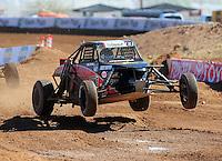 Apr 16, 2011; Surprise, AZ USA; LOORRS driver Mike Porter (8) during round 3 at Speedworld Off Road Park. Mandatory Credit: Mark J. Rebilas-.