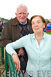Murt and Bridie O'Shea enjoying the Dr Crokes barbeque in Lewis Road on Sunday.   Copyright Kerry's Eye 2008