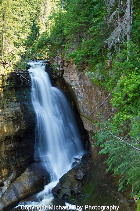 Miners Falls, Pictured Rocks National Lake Shore, Munising Michigan