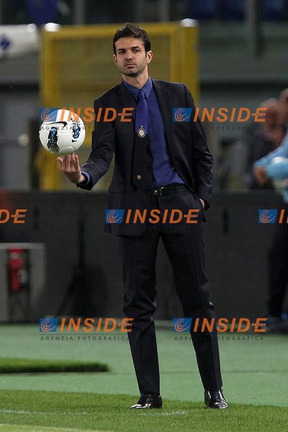 """Andrea Stramaccioni Inter.Roma 13/05/2012 Stadio """"Olimpico"""".Football / Calcio Serie A 2011/12 AS Roma vs Inter.Foto Insidefoto Paolo Nucci."""