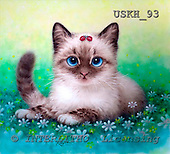 Kayomi, CUTE ANIMALS, paintings, LittleFriends_M, USKH93,#AC# illustrations, pinturas ,everyday