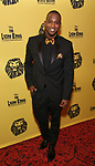 Jelani Remy attends the 20th Anniversary Performance of 'The Lion King' on Broadway After Party at The Minskoff Theatre on November 5, 2017 in New York City.