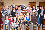 Eileen Long Lyrecompane seated centre celebrates her 21st birthday with her family and friends in the Crown Hotel Castleisland on Friday night       Copyright Kerry's Eye 2008