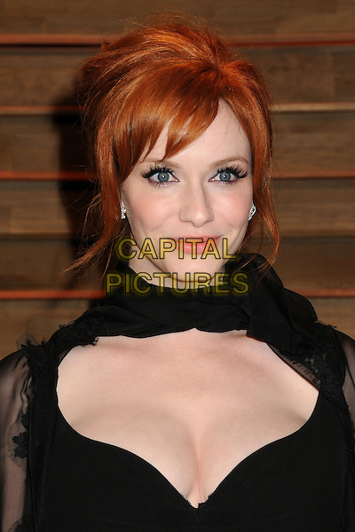 02 March 2014 - West Hollywood, California - Christina Hendricks. 2014 Vanity Fair Oscar Party following the 86th Academy Awards held at Sunset Plaza.  <br /> CAP/ADM/BP<br /> &copy;Byron Purvis/AdMedia/Capital Pictures