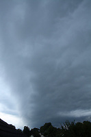 Gust Front Before a Thunderstorm