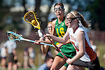 Santa Barbara, CA 02/13/10 - Grace Jackson (Texas #7) in action during the Texas-Oregon game at the 2010 Santa Barbara Shoutout, Texas defeated Oregon 11-9.