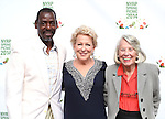 Ron Finley, Bette Midler and Liz Smith attend the 13th Annual New York Restoration Project Spring Picnic at The General Grant National Memorial on May 29, 2014 in New York City