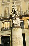 Sculpture of Venus, La Mariblanca, Plaza de la Puerta del Sol, Madrid, Spain
