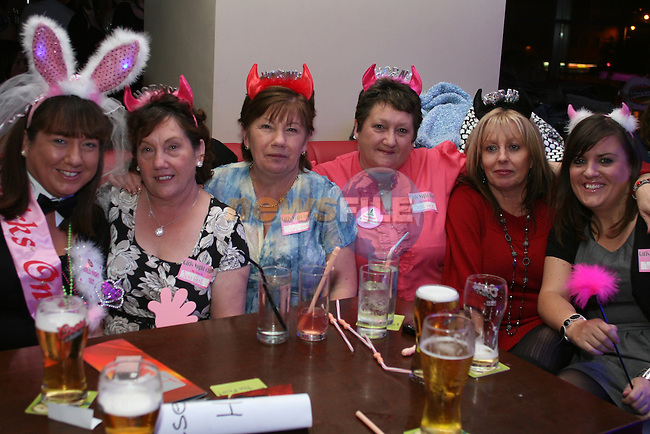 Jennifer Seerey celebrates her Hen Party in Bru...Photo NEWSFILE/Jenny Matthews.(Photo credit should read Jenny Matthews/NEWSFILE)....This Picture has been sent you under the condtions enclosed by:.Newsfile Ltd..The Studio,.Millmount Abbey,.Drogheda,.Co Meath..Ireland..Tel: +353(0)41-9871240.Fax: +353(0)41-9871260.GSM: +353(0)86-2500958.email: pictures@newsfile.ie.www.newsfile.ie.FTP: 193.120.102.198.