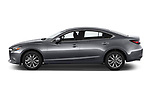 Car driver side profile view of a 2018 Mazda Mazda6 Sport 4 Door Sedan