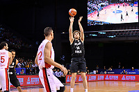 New Zealand Tall Blacks&rsquo; Rob Loe in action during the FIBA World Cup Basketball Qualifier - NZ Tall Blacks v Syria at TSB Bank Arena, Wellington, New Zealand on Sunday 2 2018. <br /> Photo by Masanori Udagawa. <br /> www.photowellington.photoshelter.com