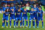 GETAFE, SPAIN - DECEMBER 12: Getafe CF squad poses for media prior to the UEFA Europa League group C match between Getafe CF and FK Krasnodar at Coliseum Alfonso Perez on December 12, 2019 in Getafe, Spain<br /> (ALTERPHOTOS/David Jar)