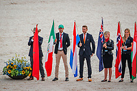 The Opening Ceremony. 2018 FEI World Equestrian Games Tryon. Tuesday 11 September. Copyright Photo: Libby Law Photography