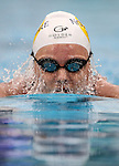 Helena Gasson, 400m IM during the New Zealand Open Swimming Championships, Owen G Glenn National Aquatic Centre, Auckland, New Zealand. Friday 1 April 2016 Photo: Simon Watts / www.bwmedia.co.nz