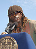 .Boyd Tinsley of The Dave Matthews Band.at the announcement of Dave Matthews Band concert on September 12, 2003 in Central Park. The concert will be in .Central Park on September 24, 2003. Photo By Robin Platzer, Twin Images
