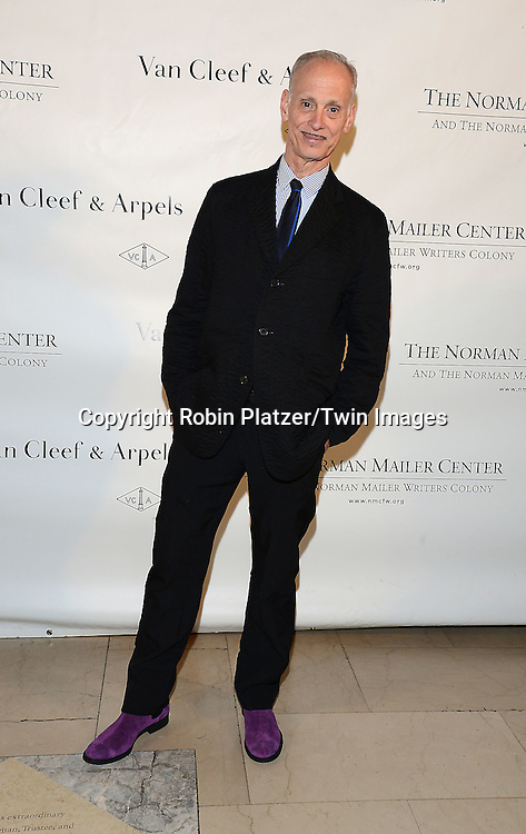 John Waters attends the Norman Mailer Center Sixth Annual Gala on October 27, 2014 at The New York Public Library in New York City.<br /> <br /> photo by Robin Platzer/Twin Images<br />  <br /> phone number 212-935-0770