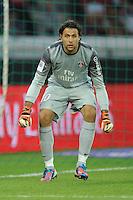 Salvatore Sirigu (PSG) .Parigi, 04/08/2012.Trofeo di Parigi .Paris Saint Germain vs FC Barcellona.foto Insidefoto / Jean Bibard / Panoramic ..Italy Only