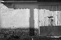 Sagittario.Basilicata 2010 - Dettaglio di una casa rurale.