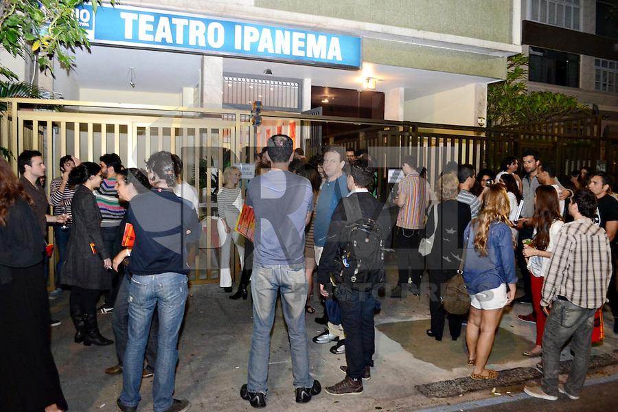RIO DE JANEIRO-25/06/2012-Evento de reabertura do Teatro Ipanema, palco de grandes momentos da historia teatral carioca, em Ipanema, zona sul do Rio.Foto:Marcelo Fonseca-Brazil Photo Press