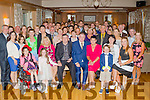 Celebration<br /> ---------------- <br /> Josephine Horgan originally from Ardfert and her husband Bill who live in Co Limerick travelled to the Ballygarry House Hotel, Tralee last Saturday night to celebrate their 30th wedding anniversary with many friends and family