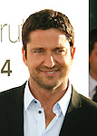 "HOLLYWOOD, CA. - July 16: Gerard Butler arrives at the Los Angeles premiere of ""The Ugly Truth"" held at the Pacific's Cinerama Dome on July 16, 2009 in Hollywood, California."