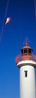 Europe/France/Normandie/Basse-Normandie/14/Calvados/Honfleur: Le port - Détail du phare