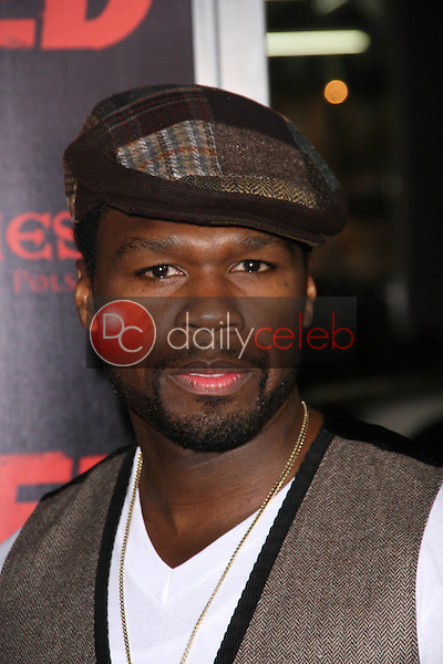 Curtis &quot;50 Cent&quot; Jackson<br /> at the &quot;Red&quot; Los Angeles Screening, Chinese Theater, Hollywood, CA. 10-11-10<br /> David Edwards/DailyCeleb.Com 818-249-4998