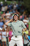 02 May 2010: Rory McIlroy celebrates his win during the final round of the Quail Hollow Championship. The final round of the Quail Hollow Championship was played at the Quail Hollow Country Club in Charlotte, North Carolina and saw Rory McIlroy claim his first PGA win.Mandatory Credit: Jim Dedmon/ ZUMA Press