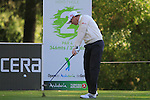 Richard McEvoy (ENG) tees off on the 1st tee to start his round during the Final Day Sunday of the Open de Andalucia de Golf at Parador Golf Club Malaga 27th March 2011. (Photo Eoin Clarke/Golffile 2011)