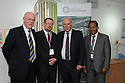 Pro-Chancellor Malcolm Peckham, Vice Chancellor Professor Nick Foskett, Dr Vince Cable MP and Deputy Vice Chancellor Rama Thirunamachandran