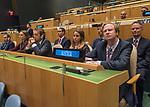 Opening of GA 72 2017 PM<br /> <br /> Austria<br /> Delegate