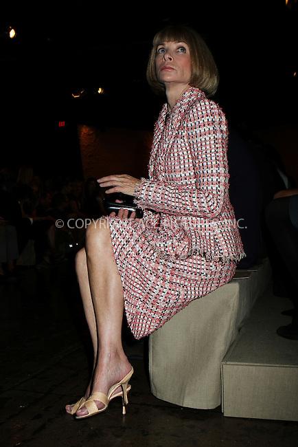 WWW.ACEPIXS.COM<br /> <br /> September 9 2013, New York City<br /> <br /> Anna Wintour at Mercedes-Benz Fashion Week on September 9 2013 in New York City<br /> <br /> By Line: Nancy Rivera/ACE Pictures<br /> <br /> <br /> ACE Pictures, Inc.<br /> tel: 646 769 0430<br /> Email: info@acepixs.com<br /> www.acepixs.com